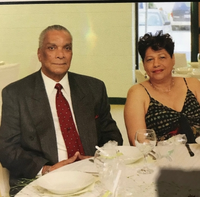 Blog Photo - Keith+Curnow and wife - credit Ron Fanfair