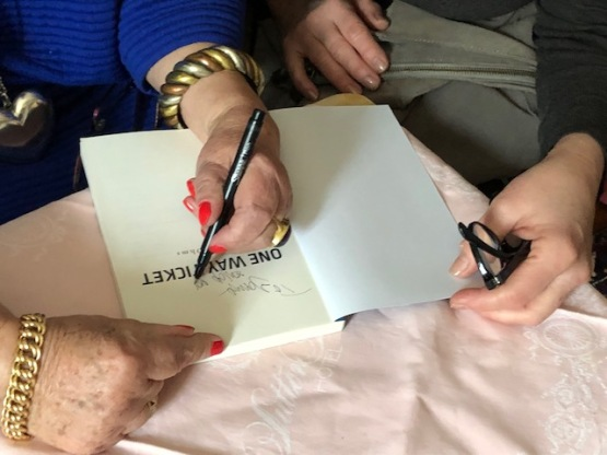 Blog Photo - Birgit signs book closeup