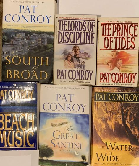 Blog Photo - Pat Conroy books