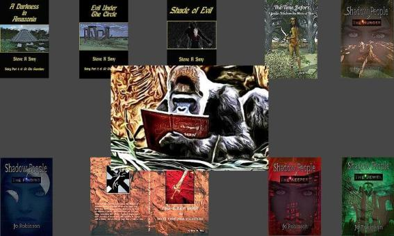 Blog Photo - Chris Graham book cover designs
