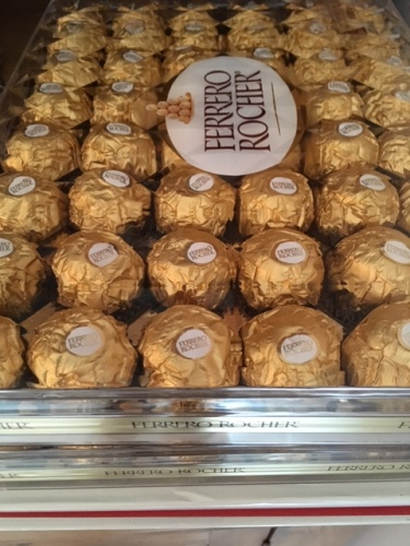 Blog Photo - Ferrero Rocher chocolates